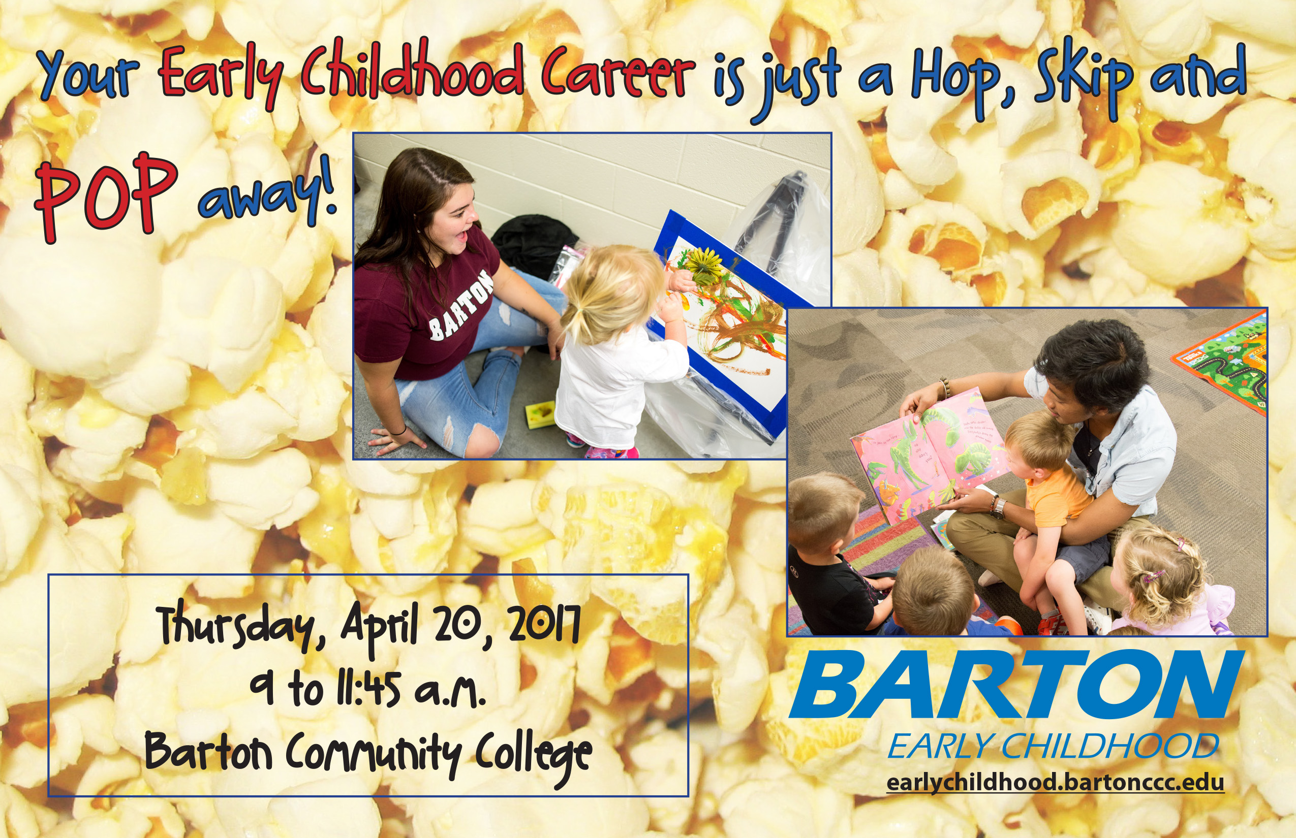 early childhood barton community college early childhood day thursday 20 from 9 to 11 45 a m at barton